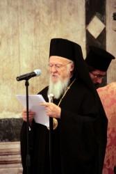 Bartolomeo I Patriarca di Costantinopoli - foto Anna Z