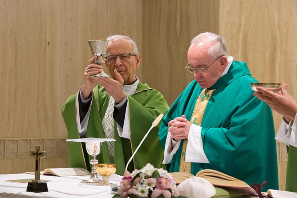 Piovanelli con Papa Francesco (da Toscana Oggi)