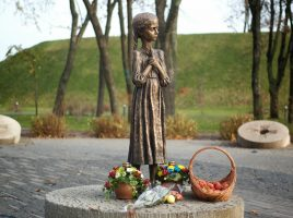 Il memoriale dell'holodomor a Kiev